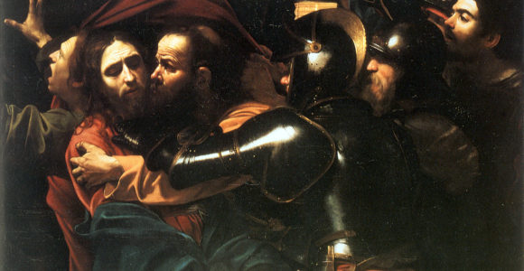 Caravaggio_-_Taking_of_Christ_-_Dublin_-_2