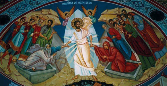 Iisus-Hristos-Sambata-Mare-Pogorarea-la-iad-pictura-murala-600px